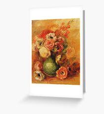 Renoir Auguste - Flowers Greeting Card