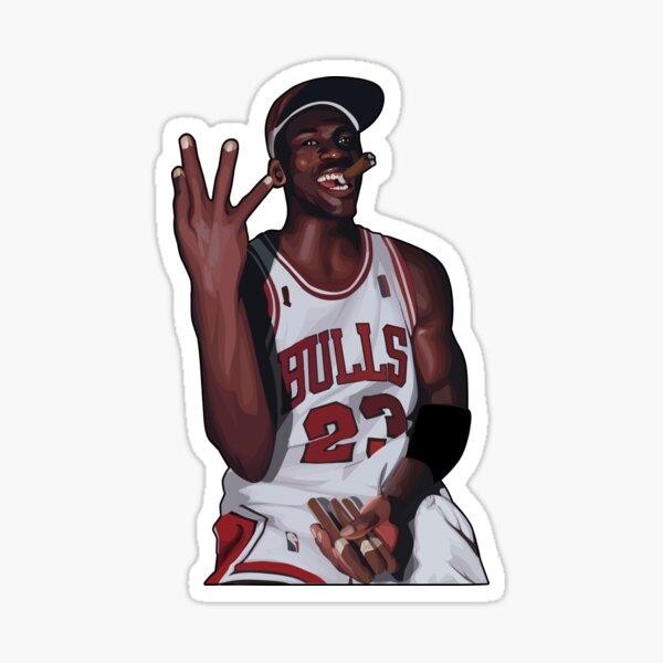 Jordan Legendary Cigar Poses Sticker