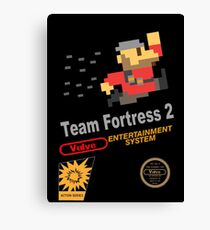 Team Fortress 2 - NES Canvas Print