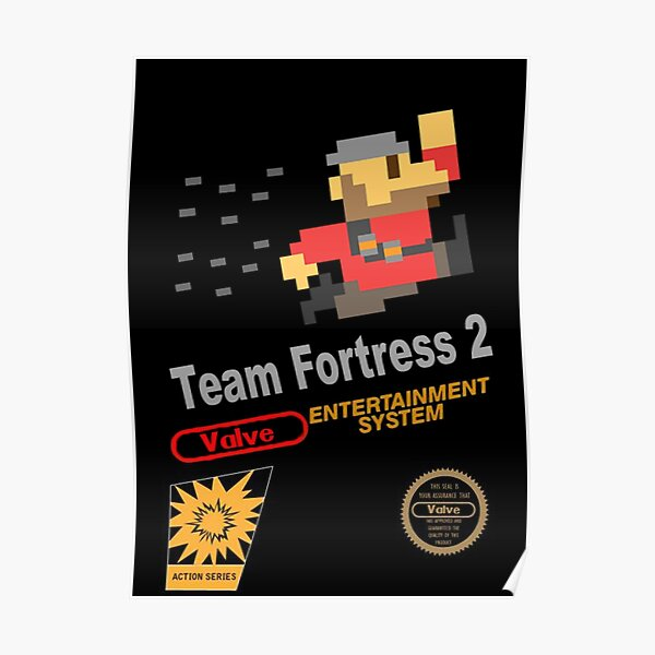 Team Fortress 2 - NES Poster