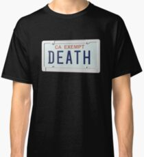 DEATH GRIPS GOVERNMENT PLATES Classic T-Shirt