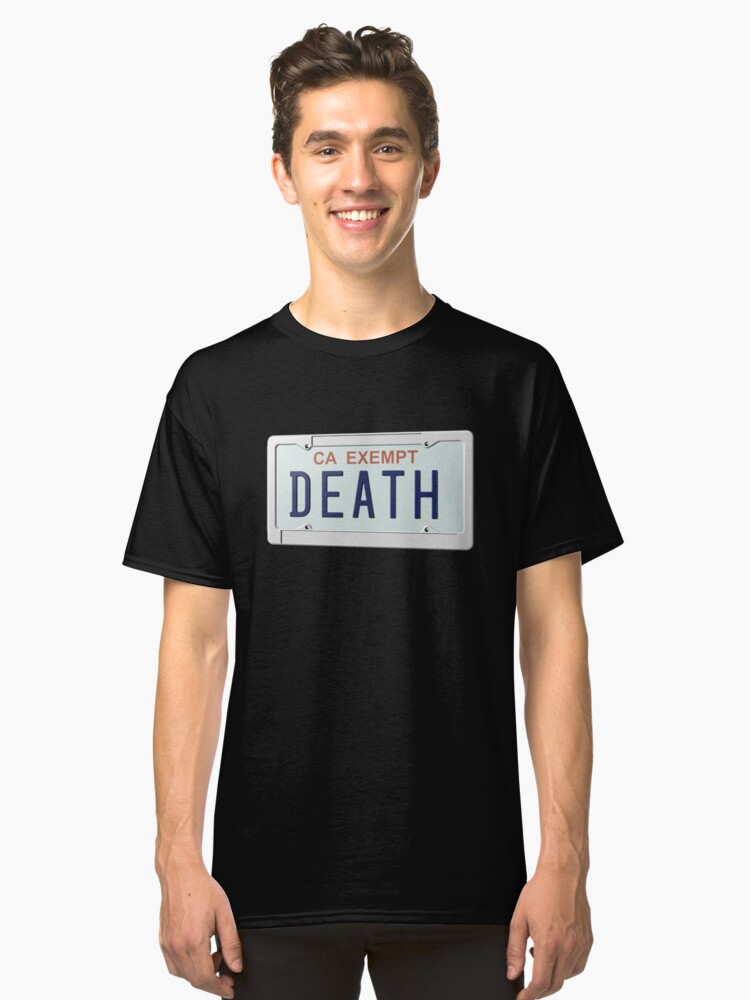 DEATH GRIPS GOVERNMENT PLATES Classic T-Shirt Front