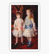 Renoir Auguste - Pink And Blue 1881 Sticker