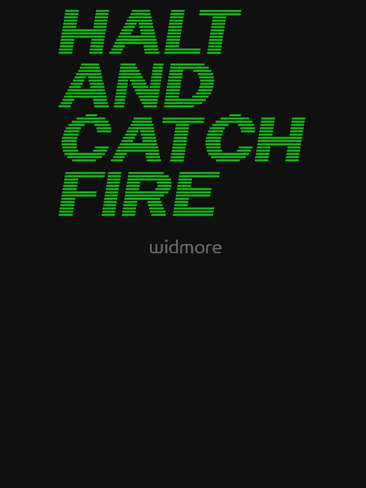 Halt and Catch Fire by widmore