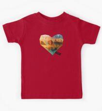 Vector Love 03 Kids Tee