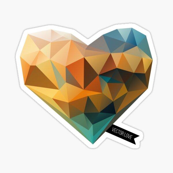 Vector Love 03 Sticker