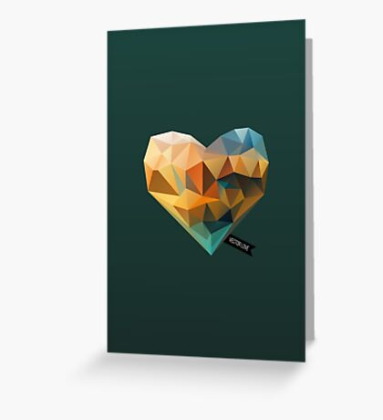 Vector Love 03 Greeting Card