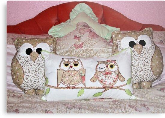 Cushions Galore by AnnDixon