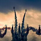 The Red Arrows Stormdance by Colin Smedley