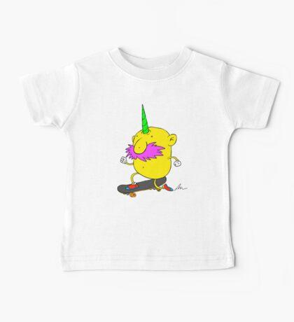 Skateboarding Unihorn Potato Kids Clothes