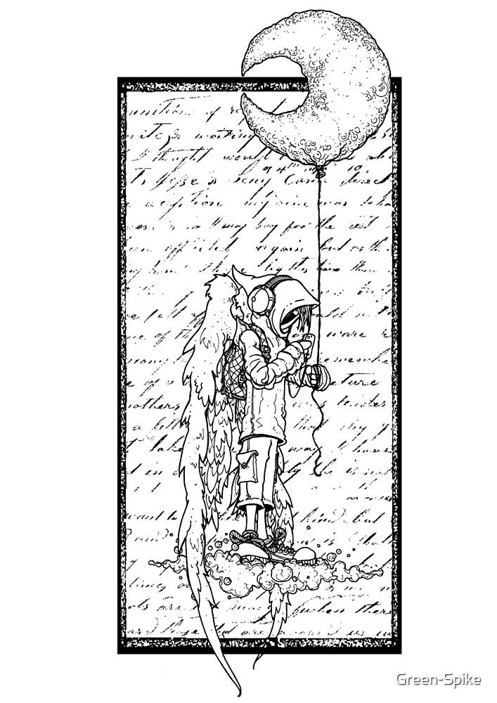 Moon Balloon by Green-Spike