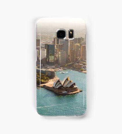 Sydney from the Sky Samsung Galaxy Case/Skin