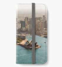Sydney from the Sky iPhone Wallet/Case/Skin