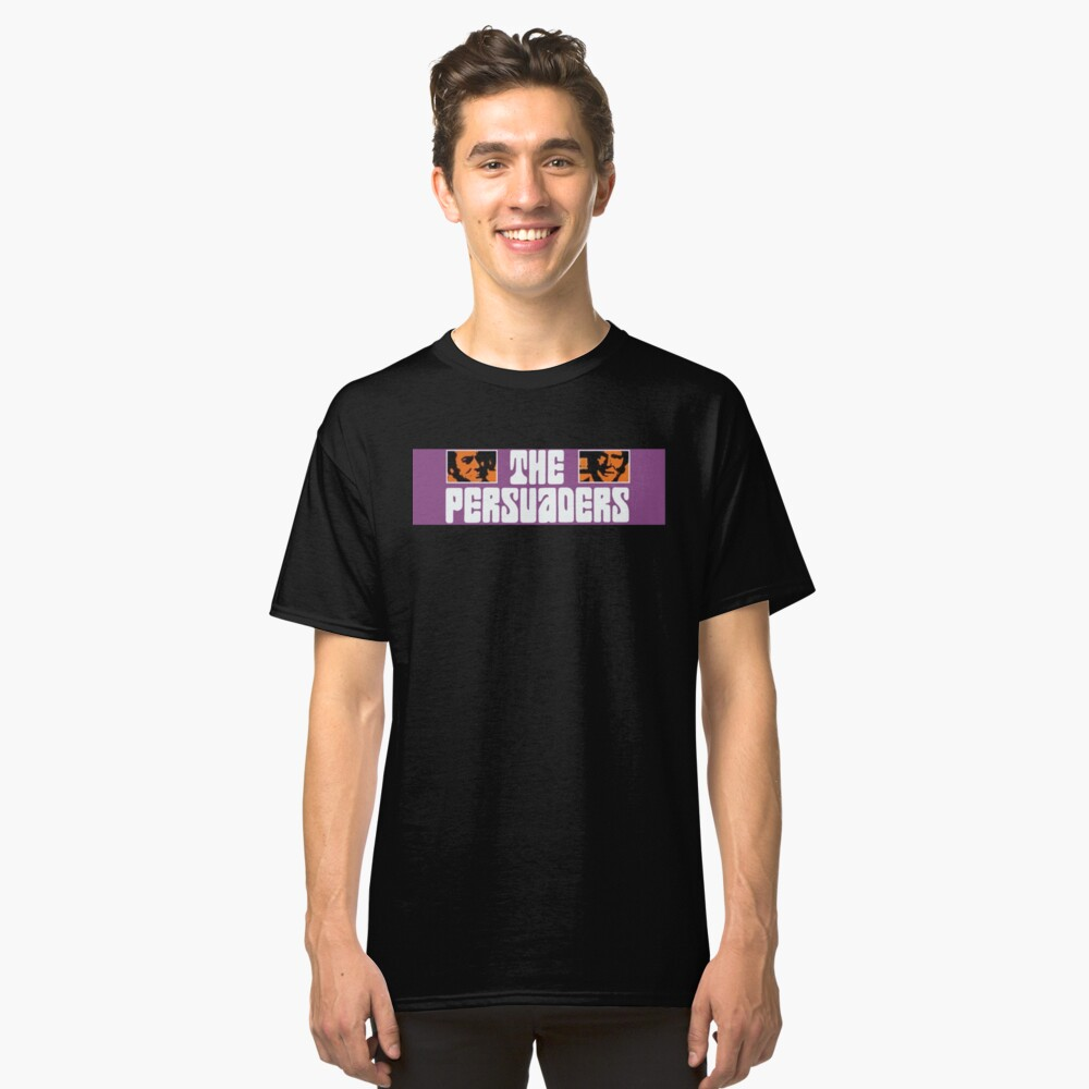 The Persuaders - Curtis + Moore Classic T-Shirt Front