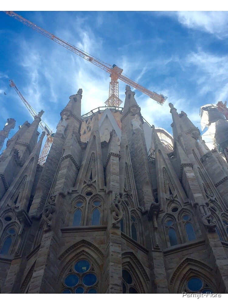Sagrada Familia by Parmjit-Flora