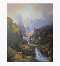 The Valley Of The Elves. Photographic Print