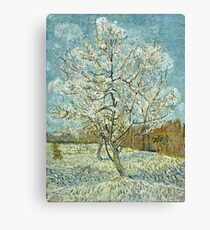Vincent Van Gogh -  Pink Peach Tree  Canvas Print