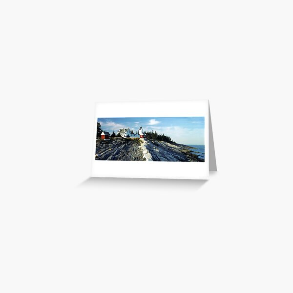 Pemaquid Point Lighthouse, Maine Greeting Card