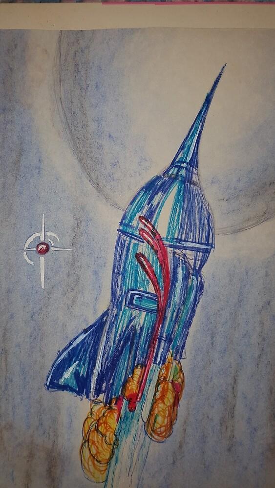 Rocket  by KathHanthorneAr