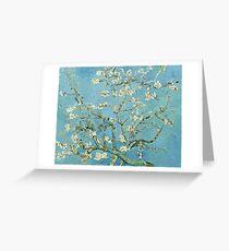 Vincent Van Gogh - Almond Blossom, February 1890 - 1890  Greeting Card