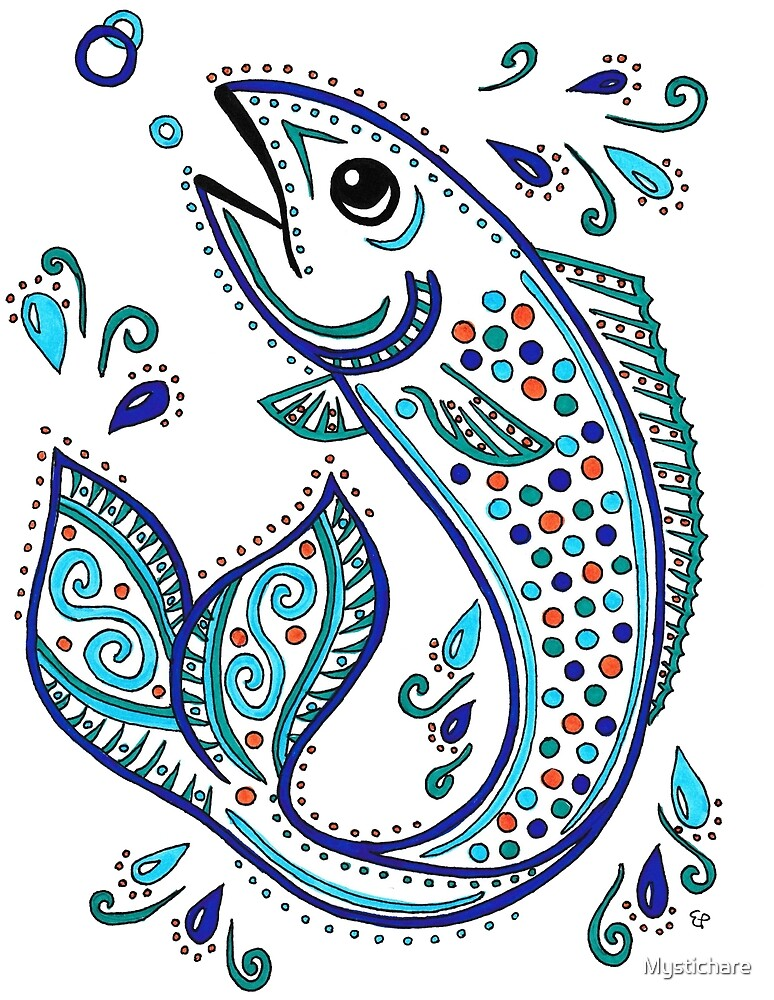 Pisces Fish by Mystichare