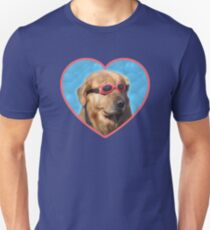 Doggo Stickers: Swimmer Dog Unisex T-Shirt