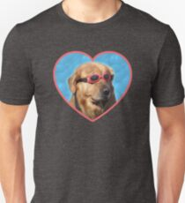 Doggo Stickers: Swimmer Dog Unisex T-Shirt