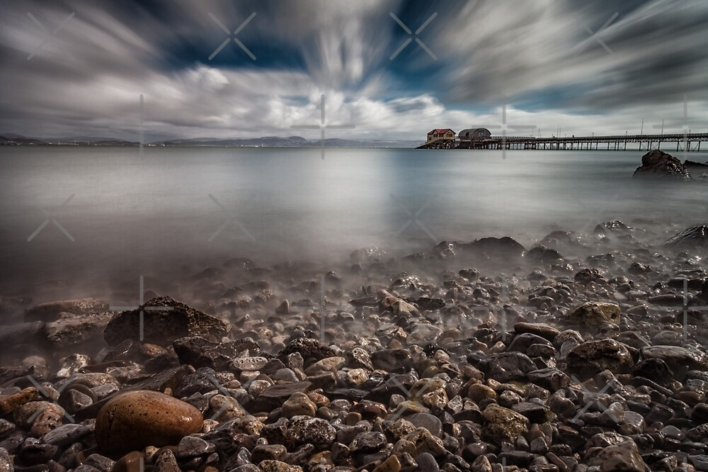Swansea Bay at Mumbles by Leighton Collins