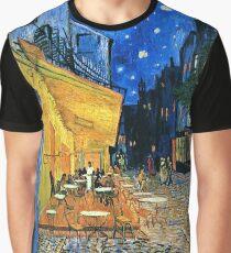 Vincent Van Gogh - Cafe Terrace, Place Du Forum, Arles 1888  Graphic T-Shirt