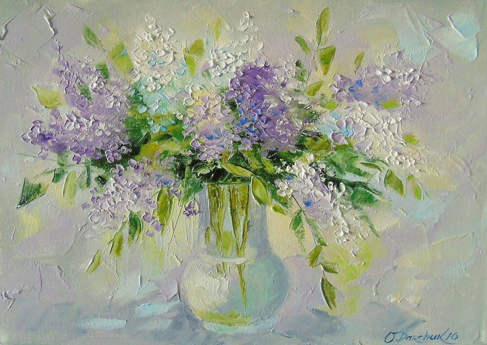 Delicate lilacs by Olyha