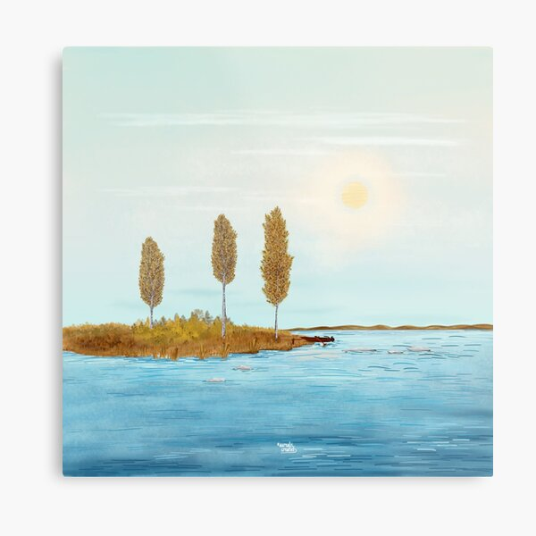 Indian Summer - Lapland8seasons Metal Print
