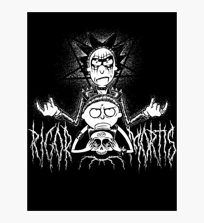 RIGOR MORTIS Photographic Print