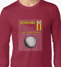 Bowling Ball Workshop Manual T-Shirt