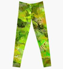 Watercolour abstract Leggings