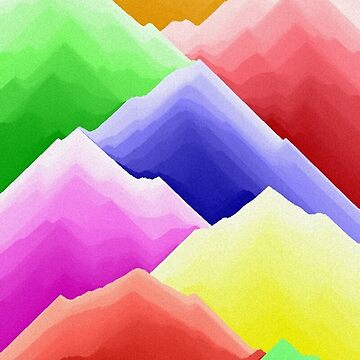 Colour Mountains by TheMCYoshi