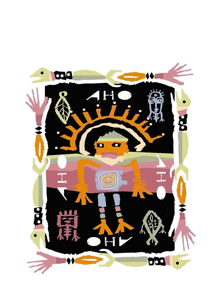 sun shaman by arteology
