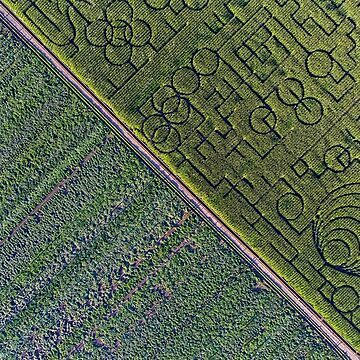 Crop and maze by KAPgsy