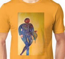 Abstract figure in color Unisex T-Shirt