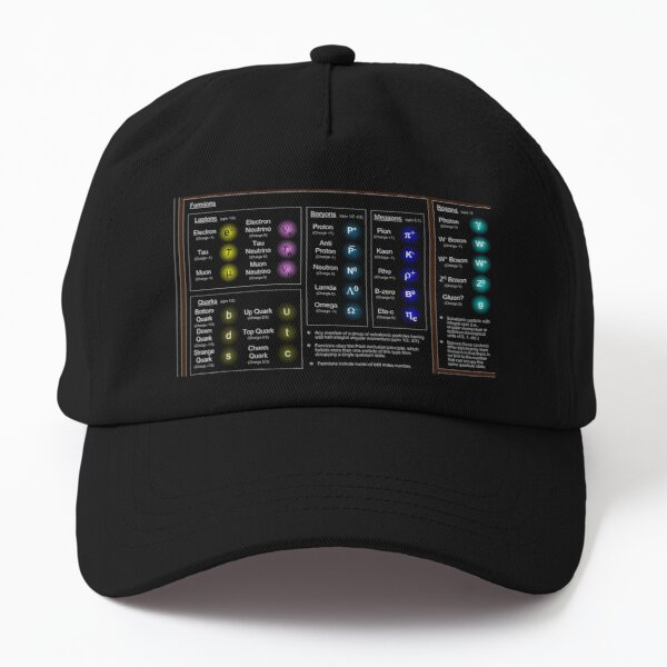 Standard Model, Particle Physics, High Energy Physics  Dad Hat
