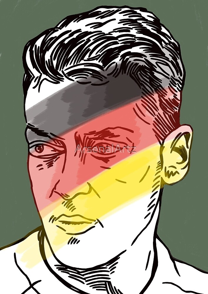 Mesut Ozil - German playmaker by ArsenalArtz