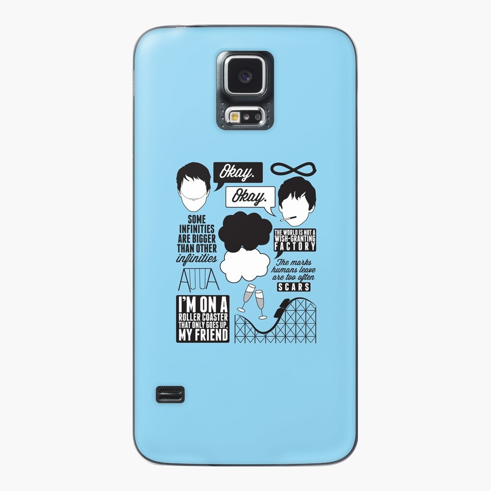 The Fault In Our Stars Collage Case & Skin for Samsung Galaxy