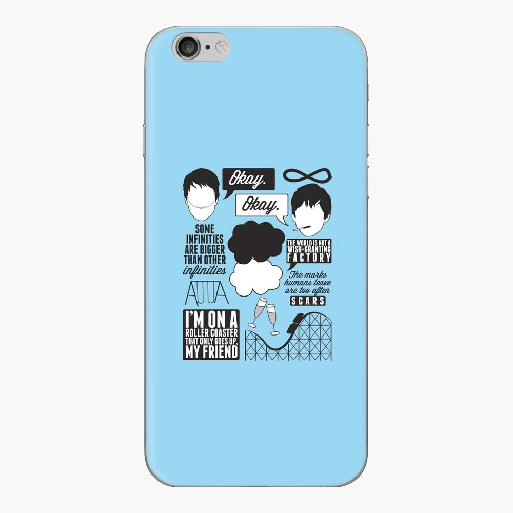 The Fault In Our Stars Collage iPhone Skin