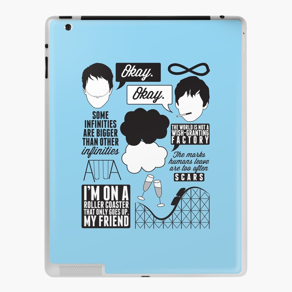 The Fault In Our Stars Collage iPad Case & Skin