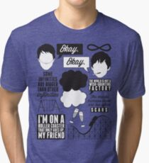 The Fault In Our Stars Collage Tri-blend T-Shirt