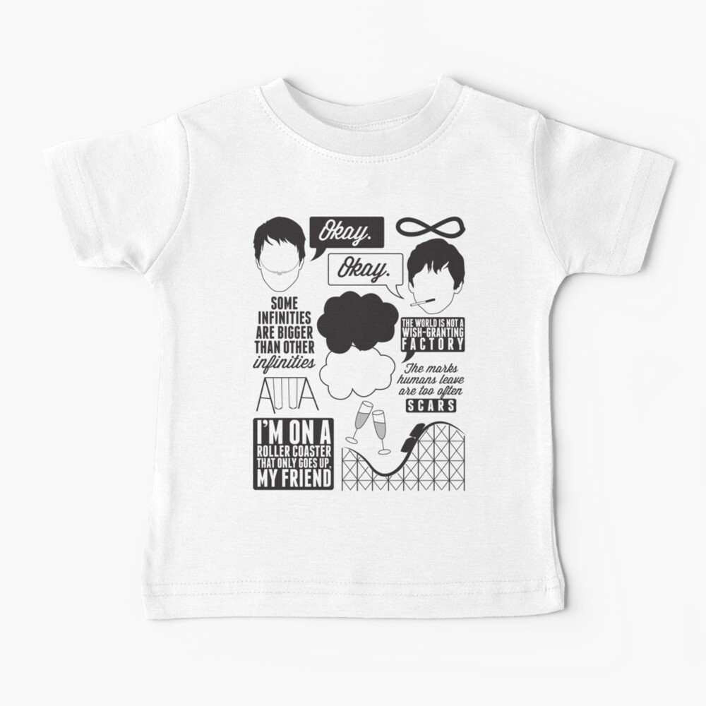 The Fault In Our Stars Collage Baby T-Shirt