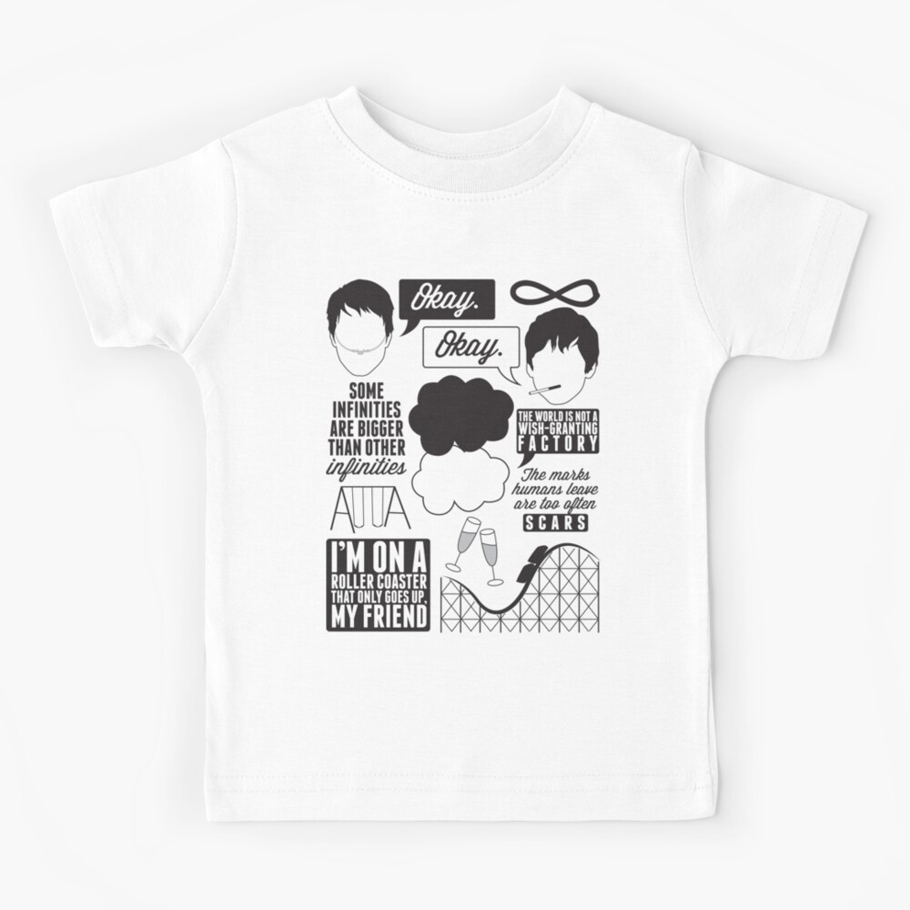 The Fault In Our Stars Collage Kids T-Shirt