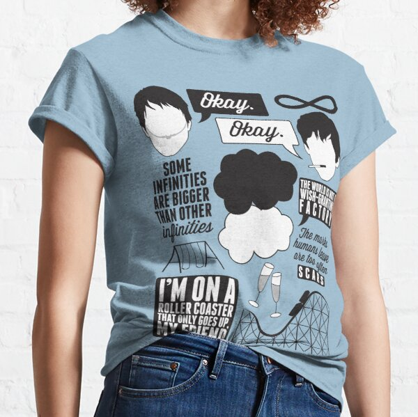 The Fault In Our Stars Collage Classic T-Shirt