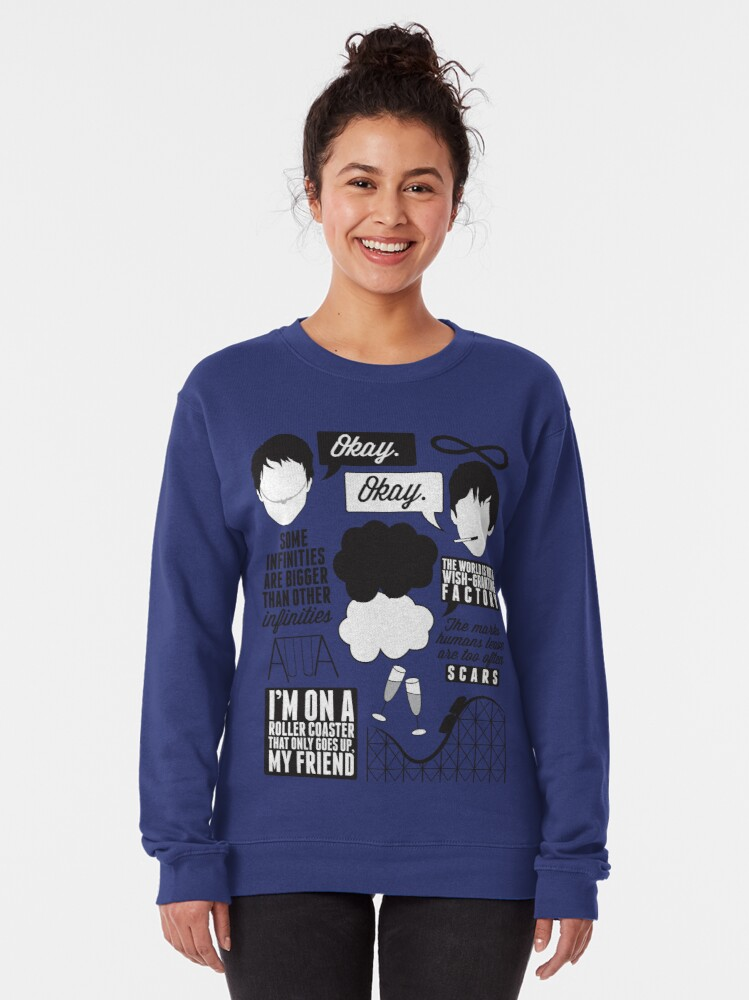 Alternate view of The Fault In Our Stars Collage Pullover Sweatshirt