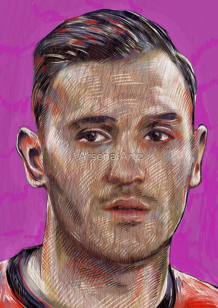 Lucas Perez - 9 by ArsenalArtz