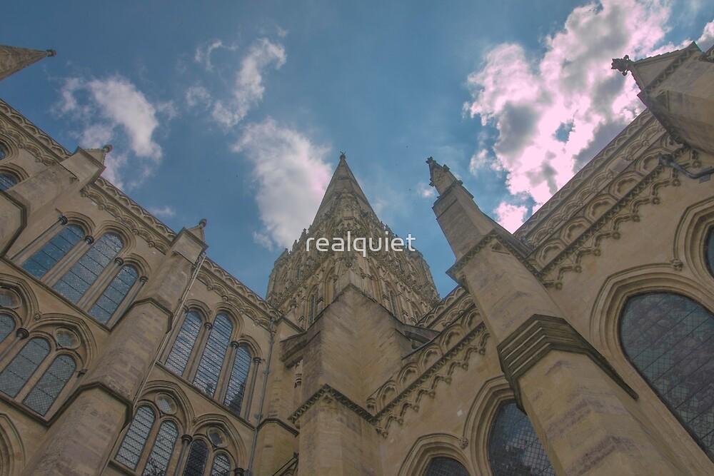 Salisbury Cathedral Wiltshire England by realquiet